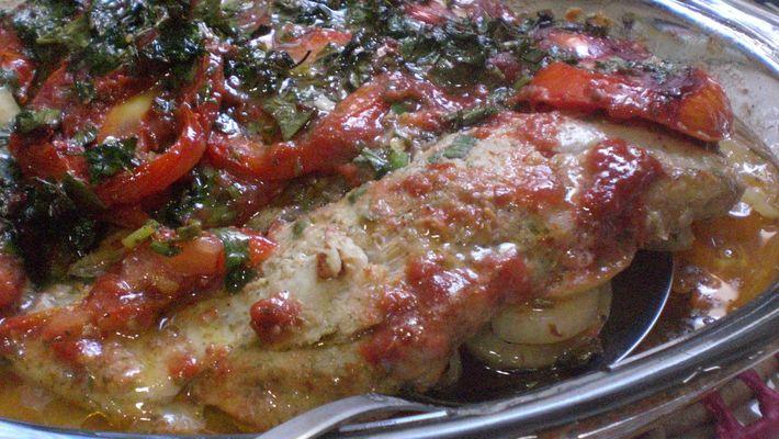 Seção Gourmet: filé de peixe ao forno