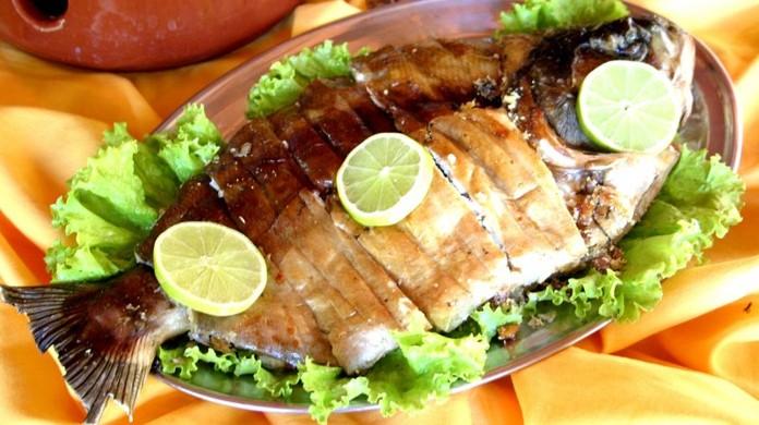 Seção Gourmet: peixe de forno recheado