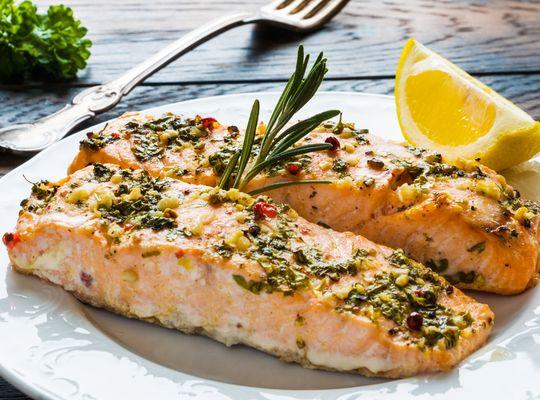 Seção Gourmet: Filé de salmão ao forno