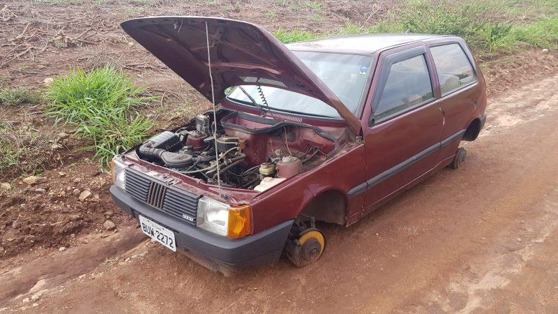 GCM localiza na zona rural veículo que havia sido roubado