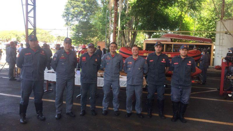 Agentes da Defesa Civil participam de treinamento em Mogi Guaçu
