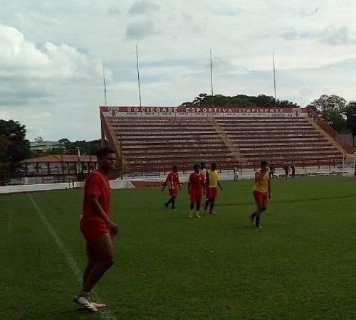 Esportiva treina forte para o jogo contra o Palmeiras